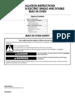 KEBC147VSS Installation Instruction