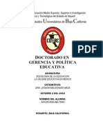 Calidad Educativa Monografia Sociologia Ceubc Sayuri Irra
