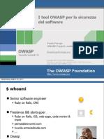 I Tool OWASP Per La Sicurezza Del Software 20110315