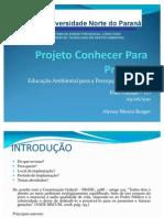 Projeto Conhecer Para Proteger