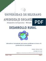 Desarrollo Rural. Alternativas Conceptuales...