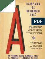 Campaña de Regidores 1967