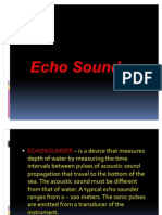 Day 7 - 9 Echo Sounder and Speed Measurement