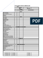 Check List Mini Cargador