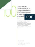 100 propuestas para mejorar la competencia en cono 5º