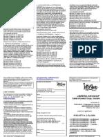 PerCorso 4 Scatti e 1 Flash Scheda Iscrizione e Volantino