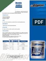 Catalogo Pintura de Aluminio Base Asfaltica