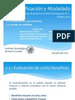 2.2.- Evaluacion de Costo Beneficion 2.3.- Estudio de ad