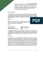 2009 Programa de Uso Sustentable de Recursos Naturales para la Producción Primaria - Componente Producción Pecuaria Sustentable y Ordenamiento Ganadero y Apícola