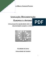 Legislação europeia e a Internet