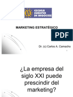 Marketing Estrategico - Carlos Camacho