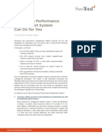 10 Things a Performance Management System Can Do for You