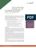 When Workforce Goals Meet Corporate Strategy