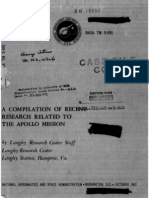 A Compilation of Recent Research Related to the Apollo Mission