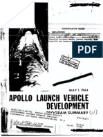 Apollo Launch Vehicle Development Program Summary