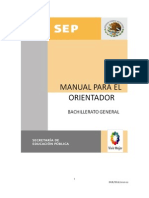 Manual Orientacion Educativa