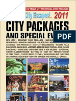 City Escapes 2011 - Williams Travel and Cruises 1-877-529-9555