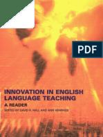 Innovation in English Language Teaching