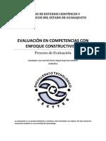 TEMARIO EVALUACIÓN COSNTRUCTIVA CON ENFOQUE EN COMPETENCIAS