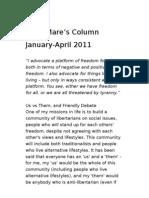 Katie Mare's Column 2010