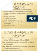 History of Nursing in the Philippines BY JAY LAPAZ ANDRES,RN