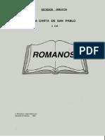 Estudio Libro de Romanos