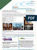 Ondas Boletín Mayo Junio 2011