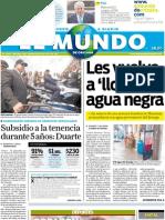 Portada El Mundo de Orizaba 6 de julio de 2011