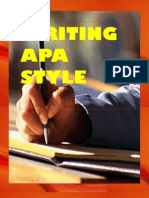 Writing APA Style 2011
