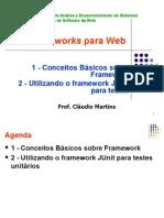 Conceitos Framework-Exemplo JUnit