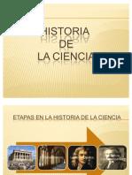 Etapas de La Historia de La Ciencia