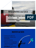Weaning in ICU