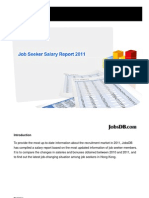 Job Seeker Salary Report 2011