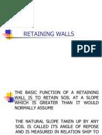 Retaining Walls Final