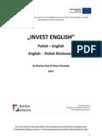 Slownik - Invest English