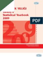 TUIK Statistics 2009
