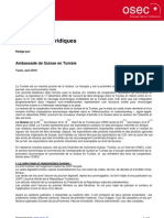 Regime Du Commerce Exterieur en Tunisie