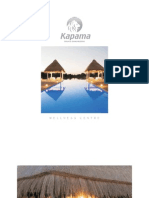 Kapama Wellness Centre Treatment Brochure in PDF