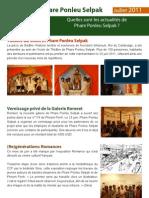 Phare Ponleu Selpak  Newsletter July (French)