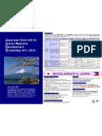 JDS Program in the Philippines 2011-2012