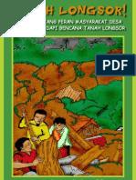 Komik Bencana Tanah Longsor