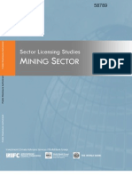 Krakoff Published Mining Licensing Report