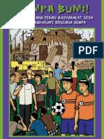 Komik Bencana Gempa Bumi