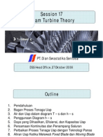 Steam Turbine Theory