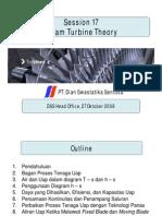 Steam Turbine Theory