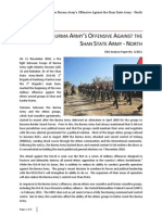 7jul11 EBO Analysis Paper No 3 2011 - Shan State Army-North - July 2011