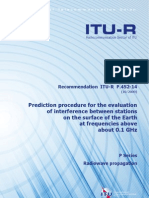 R-REC-P.452-14-Prediction Procedure for the Evaluation of Interference Between Stations on the Surface of the Earth at Frequencies Above About 0.1 GHz