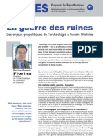 La guerre des ruines - Notes d'Analyse Géopolitique n°27