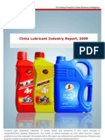 China Lube Market - 2009