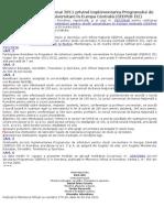HG Nr 453-2011 Studii Universitare in Europa Centrala
